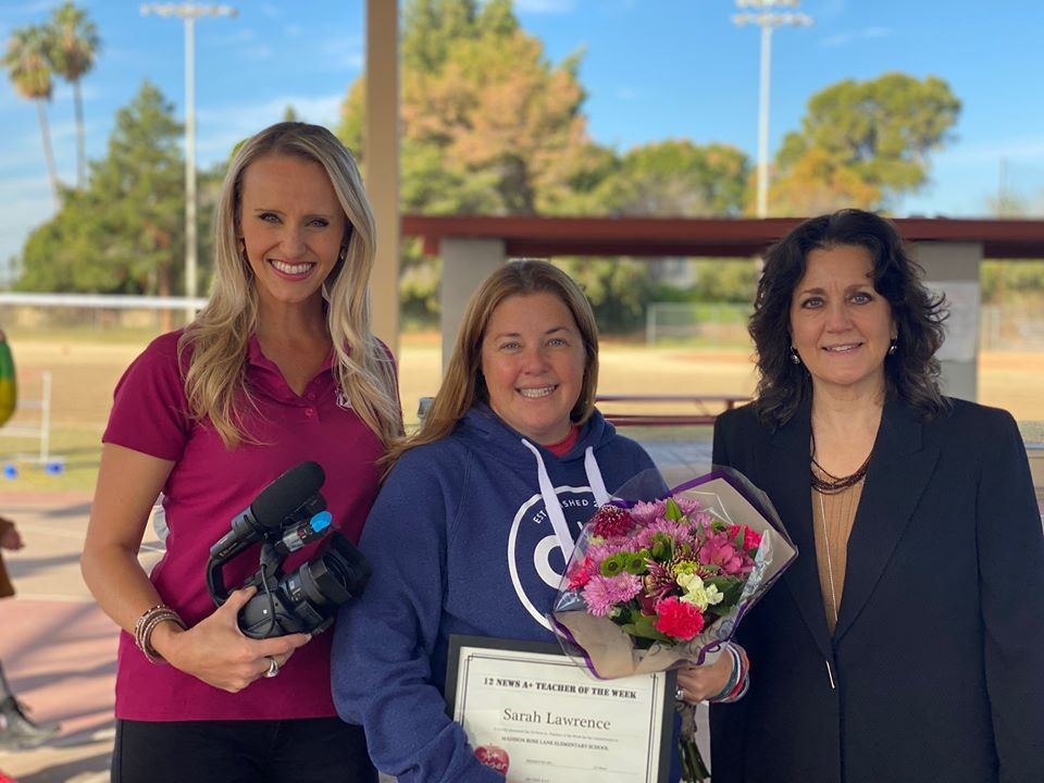 12 News A+ Teacher of the Week